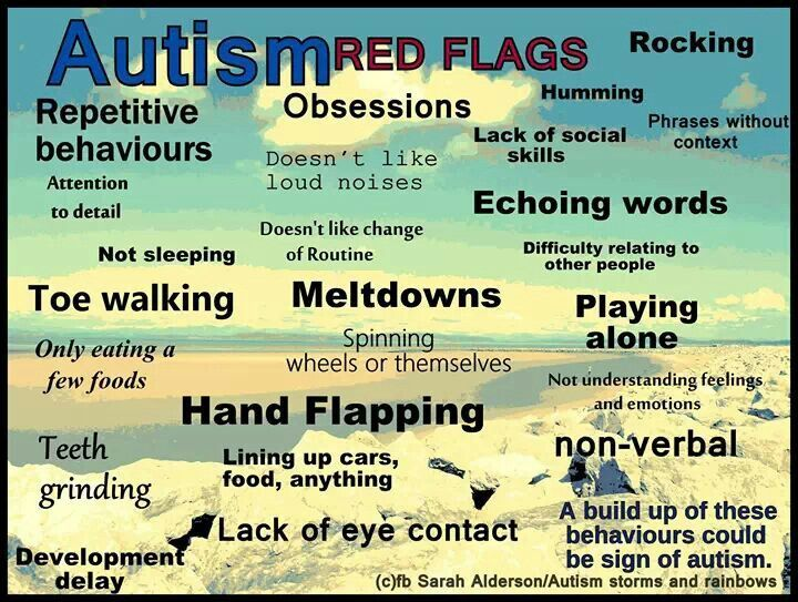 "Do you know the ""red-flag"" signs of #autism in a child? Early detection is so important. http://www.gofundme.com/BabySeanSpeaks"