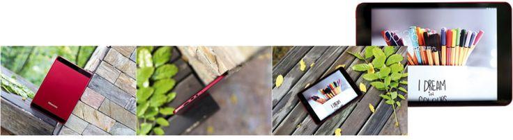 """Hisense presenta la tablet Sero 8 Pro, una de las más delgadas del mercado, con 8""""(20,3 cm) de pantalla IPS con una alta resolución de 2048 x 1536 pixeles #Hisense #tablet #Sero8Pro #superdelgada #delgada #aluminio #pantallaips #fullHD"""