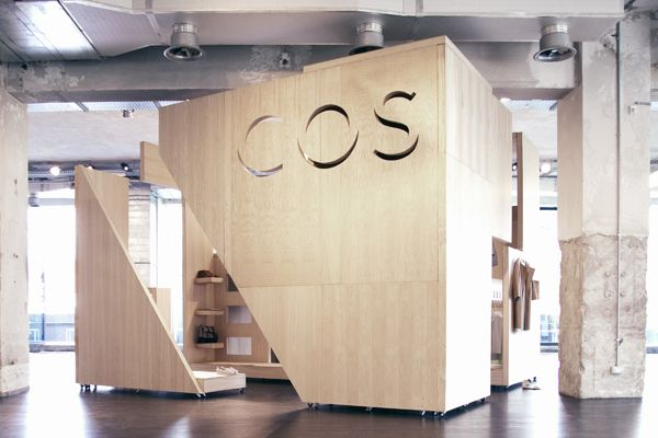 COS Trade Show Booth / Mobile Retail Space. #tradeshow #exhibition