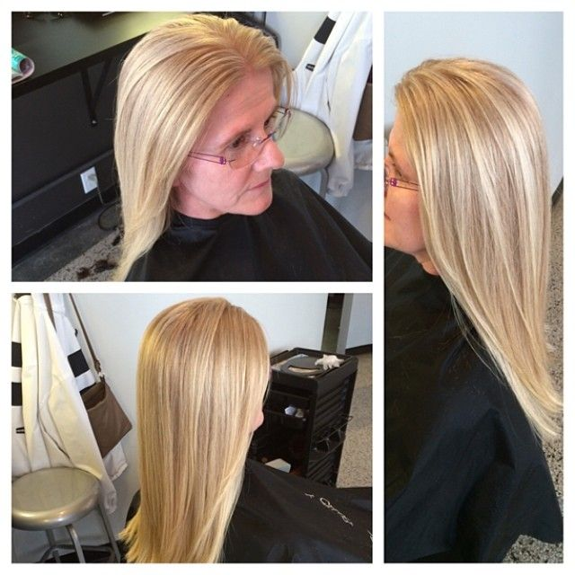 Wella's Special Blondes High Lift Color On Salt And Pepper