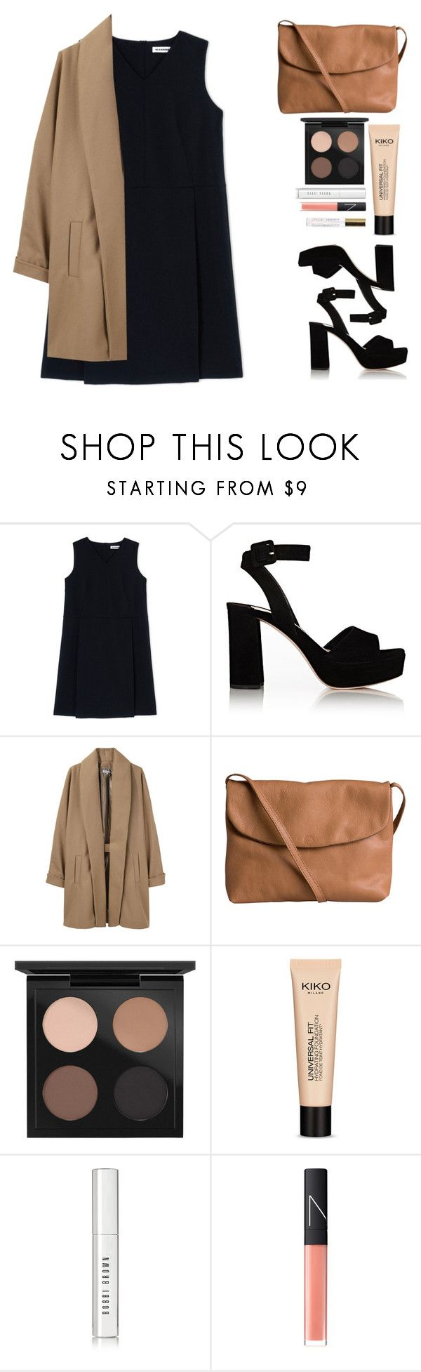 """Untitled #98"" by isabellysantanaa ❤ liked on Polyvore featuring Jil Sander, Miu Miu, Surface To Air, Pieces, MAC Cosmetics, Bobbi Brown Cosmetics and NARS Cosmetics"