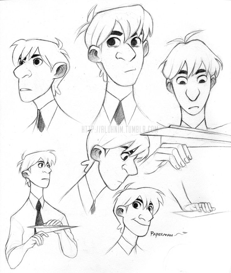 Character Design Essay : Paperman character dwaign google search