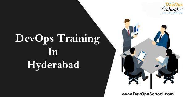 Best DevOps Training in Hyderabad offering by DevOpsSchool