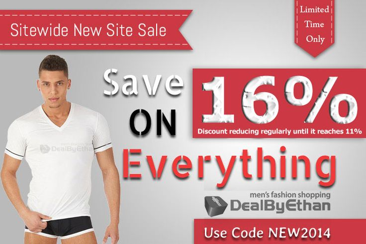 Save 16% sitewide at http://dealbyethan.com with code NEW2014 for a limited time.