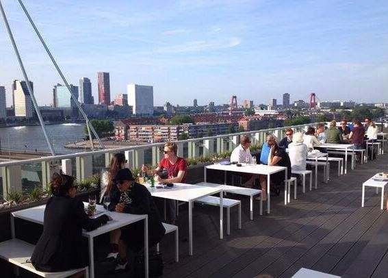 137 best images about restaurants in rotterdam en omstreken on pinterest restaurant cafe - Dakterras restaurant ...