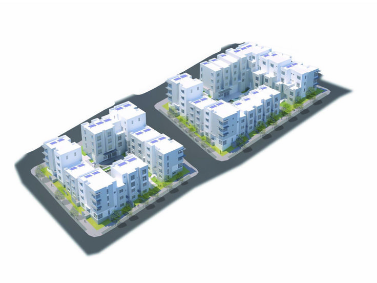 Hunters View Housing Blocks 5 & 6,Isometric