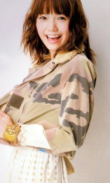 #Aoi Miyazaki #japanese actress #fashion #hair