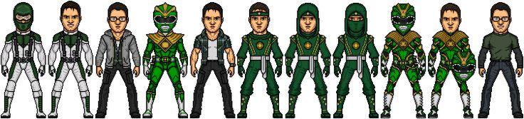 MMPR Movie Green Ranger Johnny Satchel by SpiderTrekfan616.deviantart.com on @DeviantArt