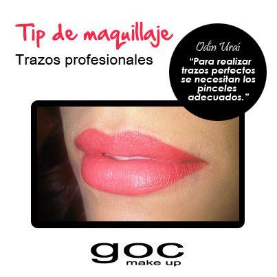 Aplícate y convierte a estos pinceles en tus mejores aliados! No. 701 para labios delgados, No. 704 para medianos y No. 917 para labios carnosos. #OdínUraí #GocMakeUp