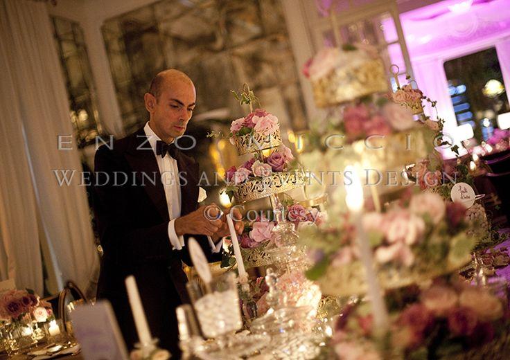 Summer Wedding in Rome #wedding #rome #weddingplanner #enzomiccio #flowerdesign #candle #decoration #miseenplace