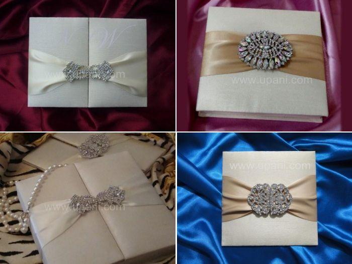 Invitation boxes Indian wedding stationery   www.weddingsonline.in