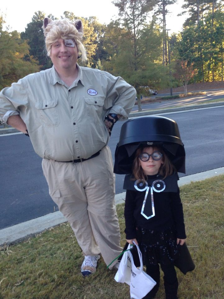 Barf & Dark Helmet - Spaceballs Halloween Cosplay
