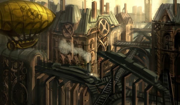 steampunk city names - 736×431