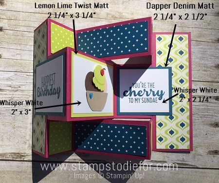 Shutter Fold Birthday Card Template directions 7