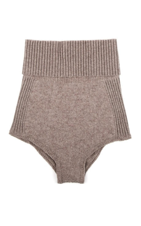 Knitted Knickers by Nina Ricci-clearly I'm no the only one that thinks knitted pants rock!