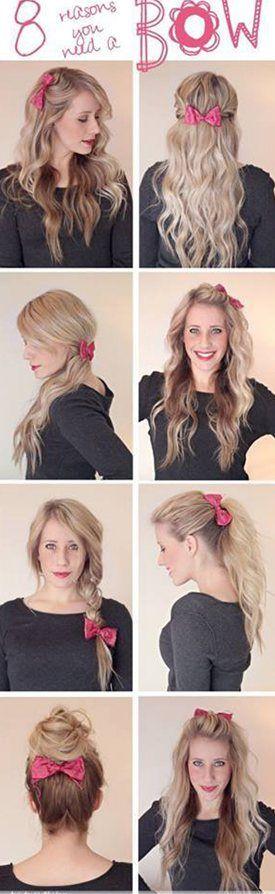 Excellent 1000 Ideas About Medium Hair Tutorials On Pinterest Side Bangs Short Hairstyles Gunalazisus