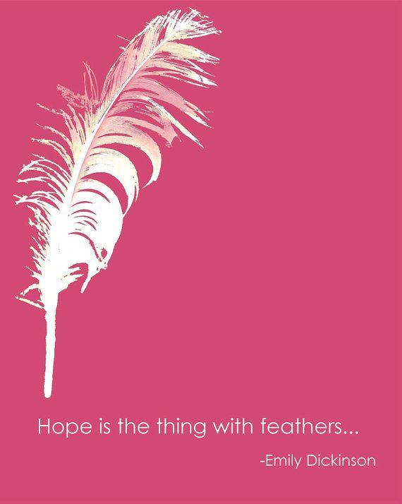 Hope. Emily Dickinson.