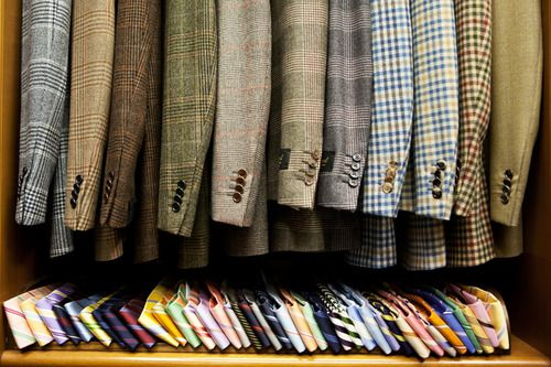 The Style Buff // by Gianni Fontana, At Al Bazar, Milan, Lino Ieluzzi (from The...