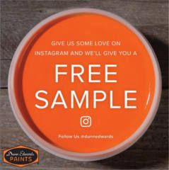 FREE Paint Sample at Dunn-Edwards Paints on http://www.icravefreebies.com/