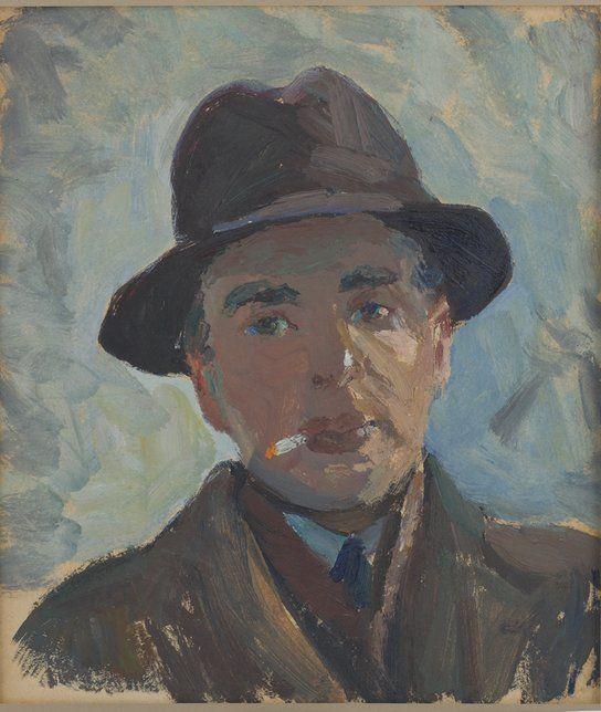 ИВАН СТЕПАНОВИЧ АСТАПОВ (1905–1982). «ПОРТРЕТ ИЛЬИ ЭРЕНБУРГА» 1939