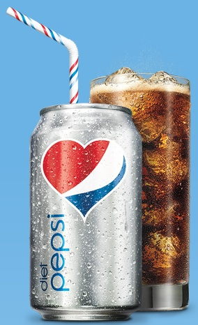 Diet Pepsi...my one carbonated addiction that I can't seem to kick