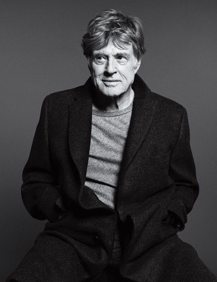 "Robert Redford. From TIME's ""100 Most Influential People in the World."" May 5 / May 12, 2014 issue by Paola Kudacki"