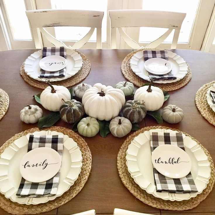Pin by Kristen Gray on {our} home | Beautiful thanksgiving ...