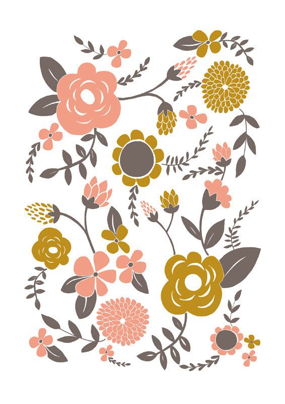 I think this would be cool wallpaper. I LOVE wallpaper with lots of color and pattern.