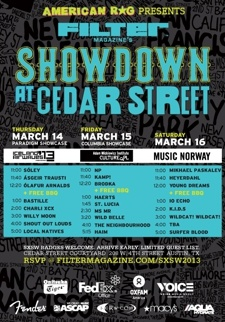 FILTER Magazine's Showdown at Cedar Street (Day Two)