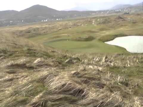 Ballyliffin Glashedy Links, 7th tee box and some M.U.E.G.A. green shots...