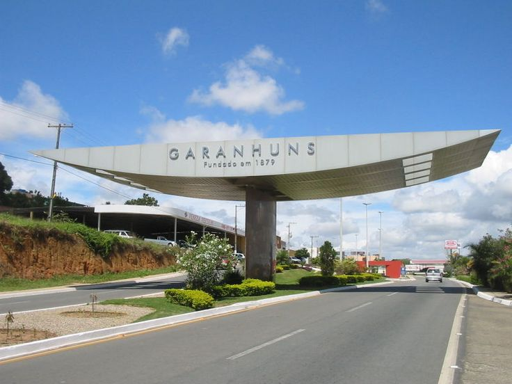 Cidade de Garanhuns, onde nasci.