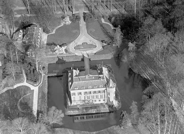 Bird's-eye view of Huis Doorn.