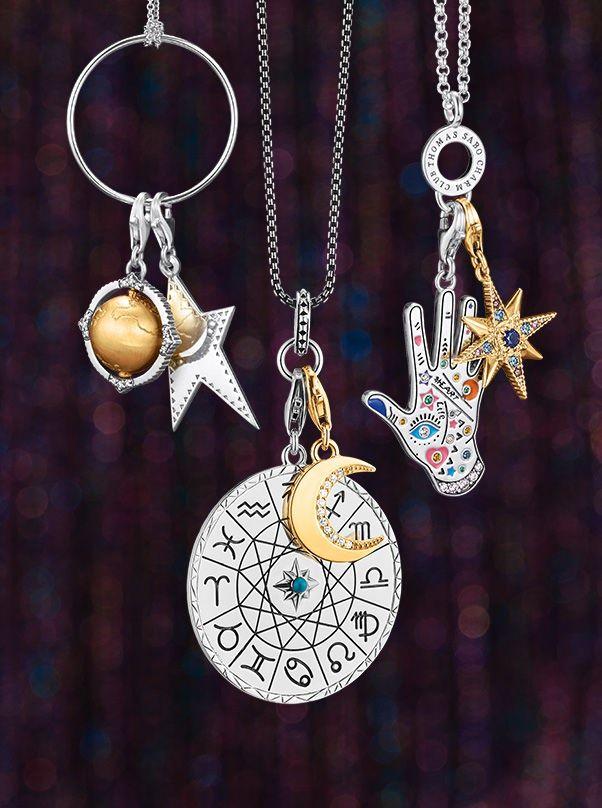 Charming Gift Ideas Thomas Sabo Charm Club Thomas Sabo Charms Thomas Sabo Bracelet Moon Jewelry