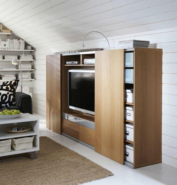 Mooi schuifdeur systeem voor tv kast opbouw en minimaal for Interieur 991