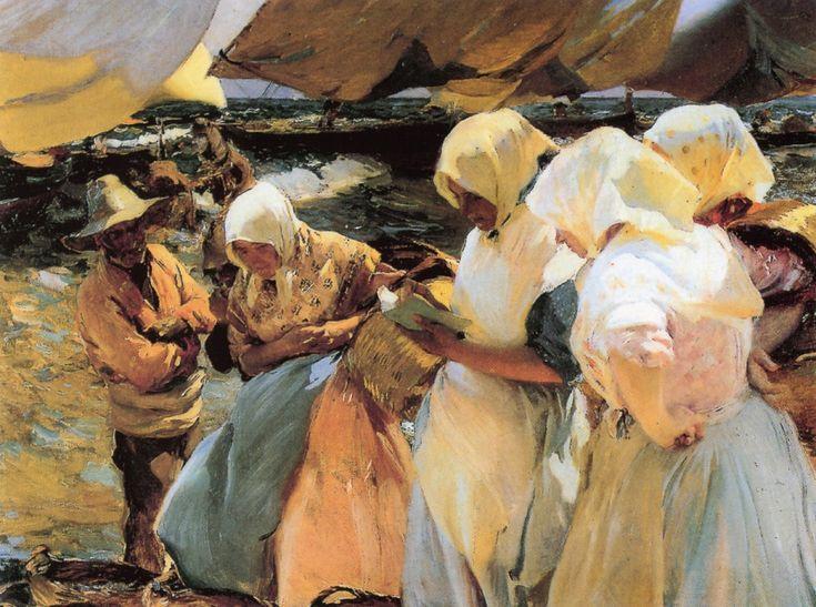 Valencian Fishwives, 1903 - Joaquin Sorolla