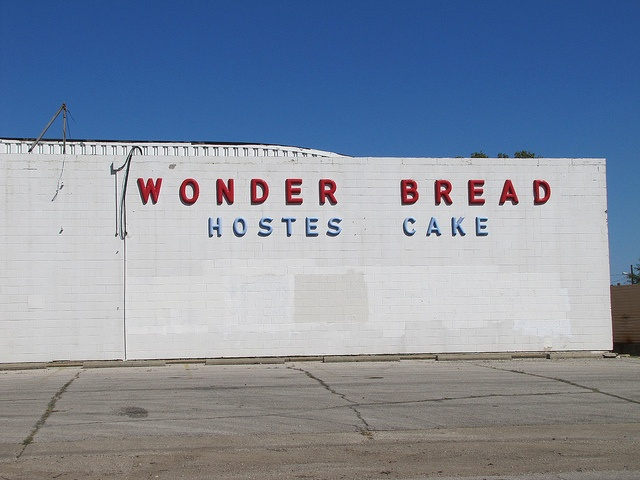 Wonder Bread -    Abandoned day old bread outlet in the Armourdale neighborhood of  Kansas City, Kansas