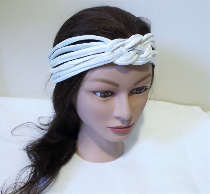 Sailor knot Headband, Knotted Headband, Jersey Fabric Hair Band, multi strand headbands. Only One Made! by TiStephani on Etsy