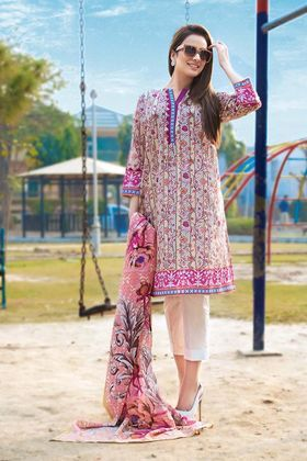28df3d4820 Gul Ahmed 2 Piece Summer Essential 2018 Custom Stitched Lawn Suit - TL-146 A