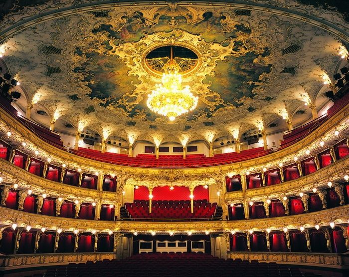 State Opera Prague  -  This great State Opera House, within close range of popular Hostels, Hotels, and Bed and Breakfasts is any director's dream with its rotating stage that gives them the chance to test their skills. Built in 1880 its main purpose was to stage German drama and music.