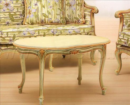 Стол журнальный MORELLO GIANPAOLO Mozart 832/N 2, производитель MORELLO GIANPAOLO, коллекция Catalogo Generale – итальянская мебель на заказ «ARREDO»