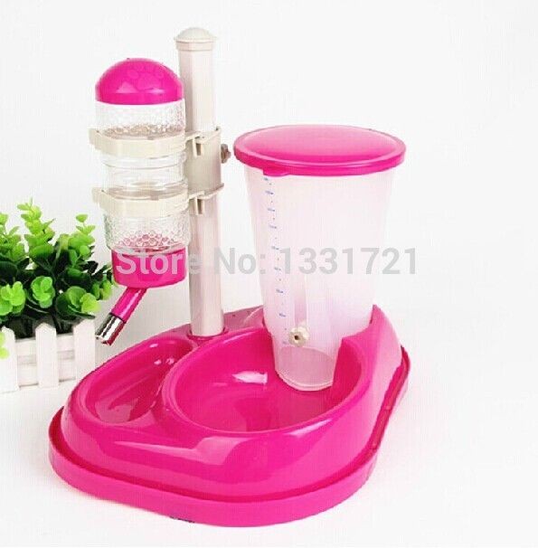 high quality automatic pet feeding bottle collapsible bow with 500ml botttle  food contain for dog cat daily using www.aliexpress.com/store/1331721