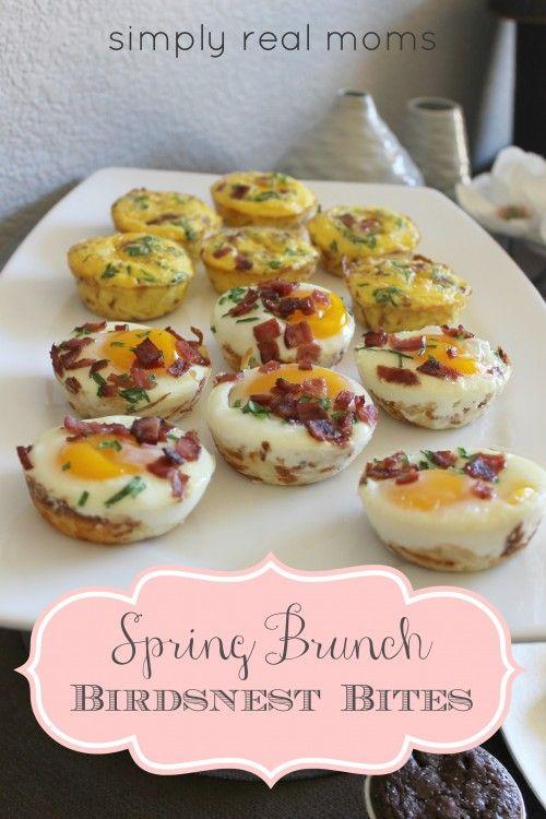 Birdsnest Bites, perfect for a spring brunch or make-ahead breakfasts!!