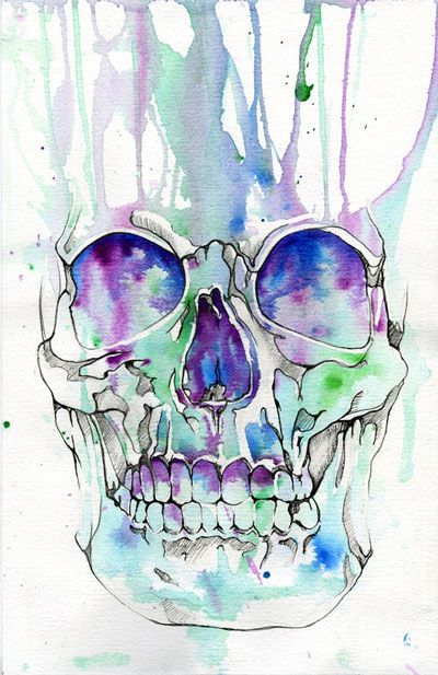 Skull illustration by Muideen Ogunmola - Skullspiration.com - skull designs, art, fashion and more