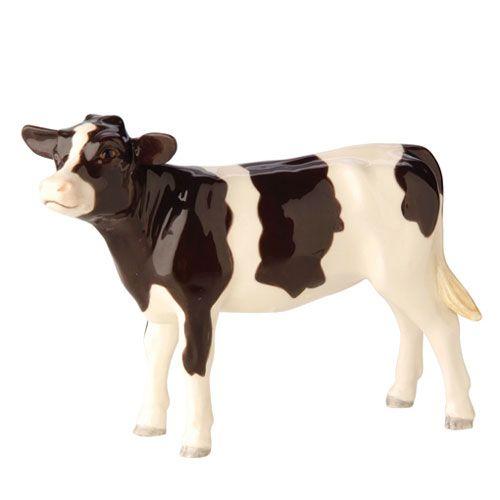Cow fresaine calf figurine