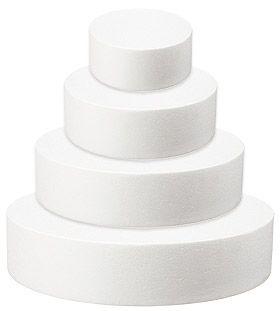 Pièce montée 4 étages en Polystyrène. Wedding-cakes, gâteaux de bonbons, grâce à cette tour en polystyrène, tout est possible.