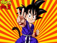 Dragon Ball Z Kid Goku, Dragon Ball Z hd widescreen wallpapers, free computer desktop wallpapers, backgrounds, pictures, images