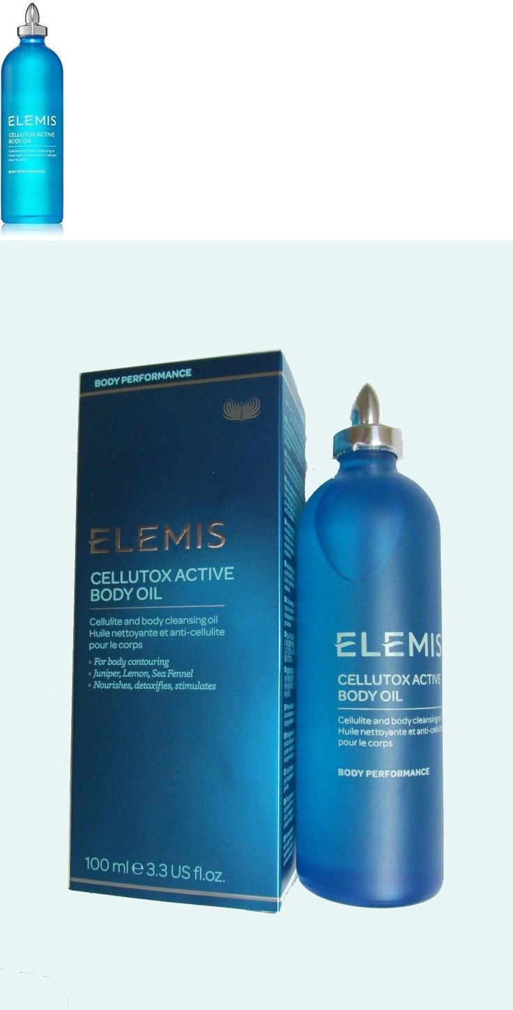 Massage Oils and Lotions: Elemis Spa At Home Cellutox Active Body Oil - Body Performance100 Ml 3.3 Fl. Oz. -> BUY IT NOW ONLY: $34.0 on eBay!