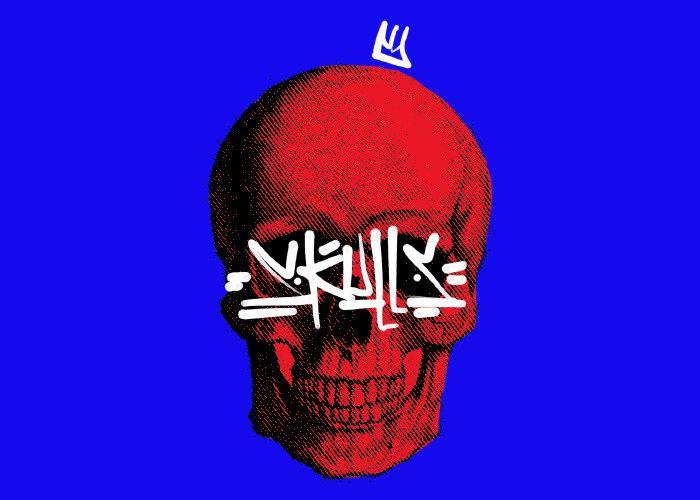 9. king of king_ skull by Juan moreno