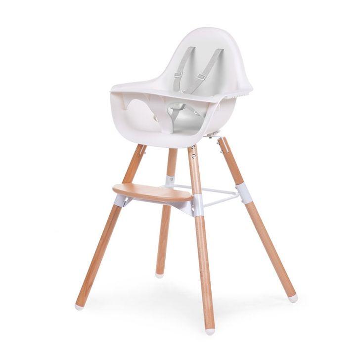 Childhome - Krzesełko Evolu 2 Natural/White