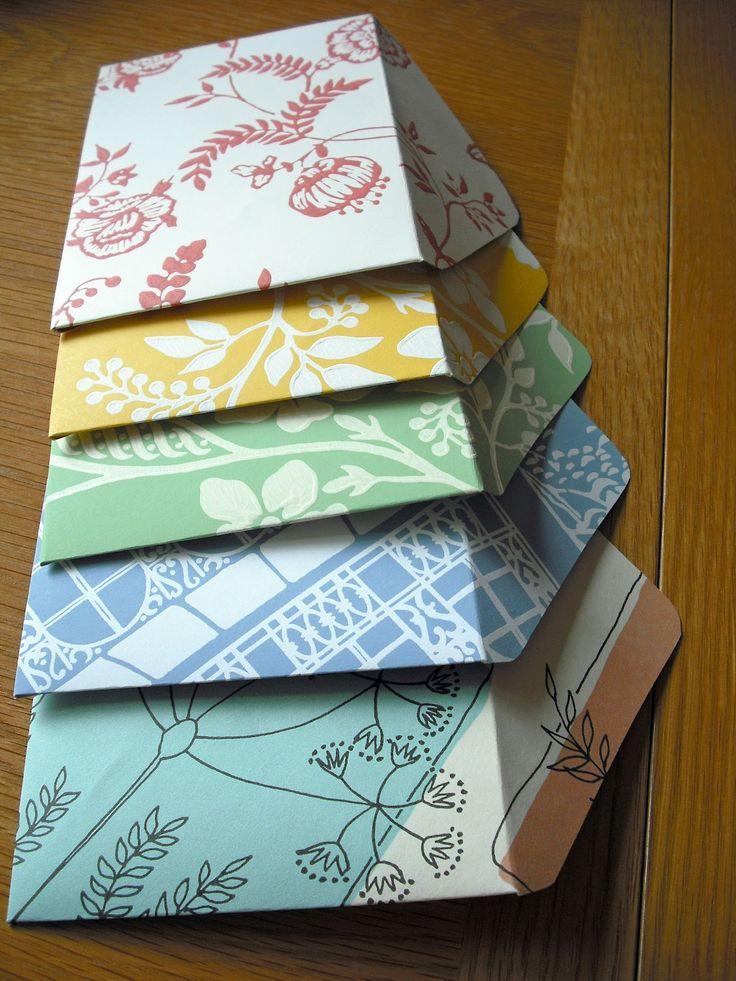 how to make handmade envelopes